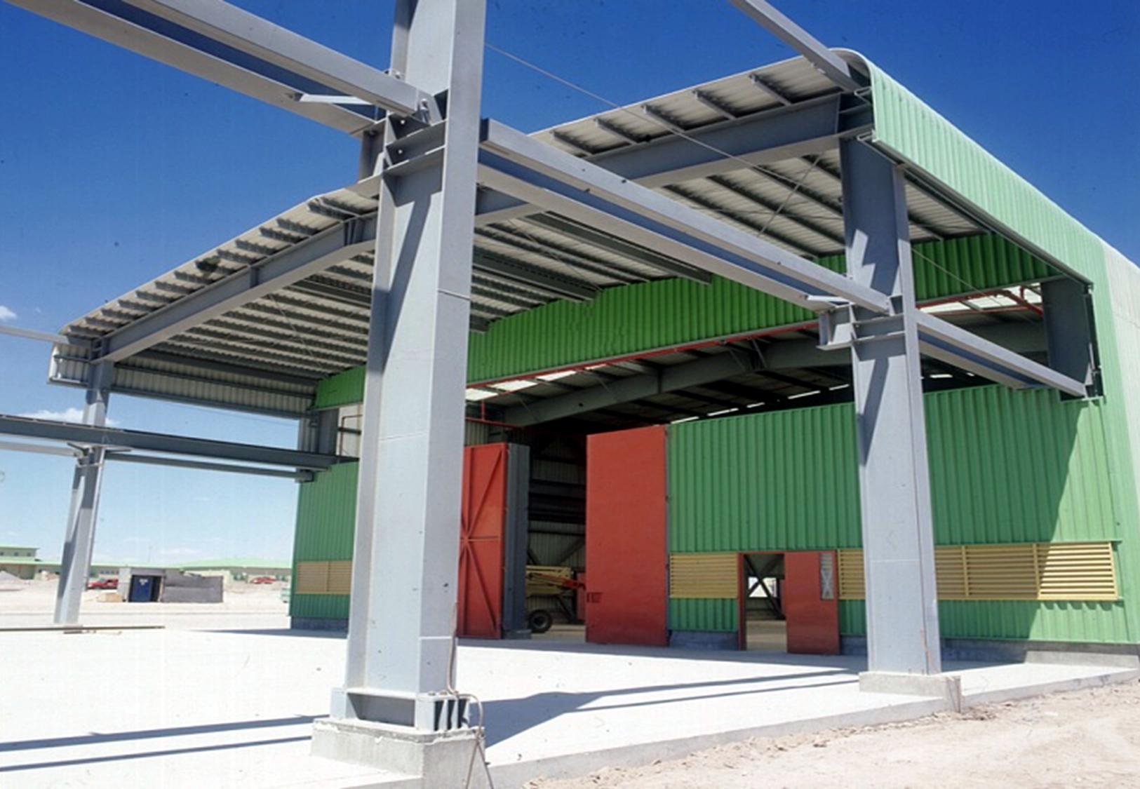 Tecno fast chile ingenier a modular for Estructuras metalicas para tejados